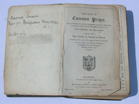 Inside the Book of Common Prayer with Hymns A. & M.