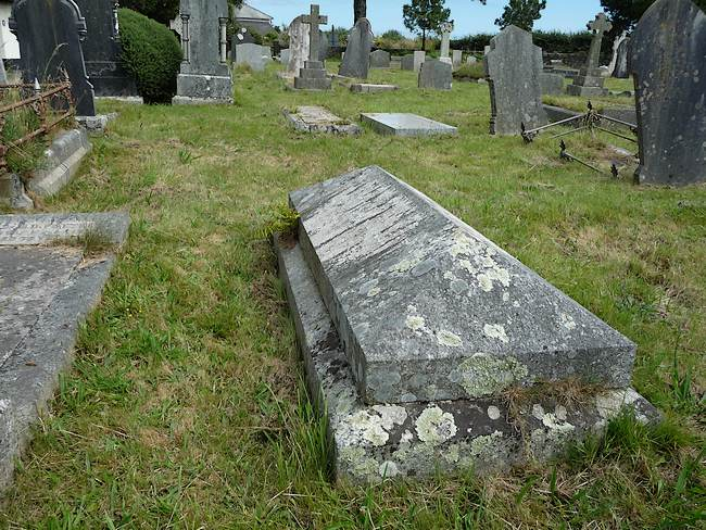 The Grave of John Barnes & his wife, Mary Ann (nee Reynolds)
