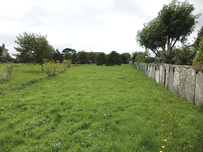 The Cholera Field Churchyard at Paul, Cornwall