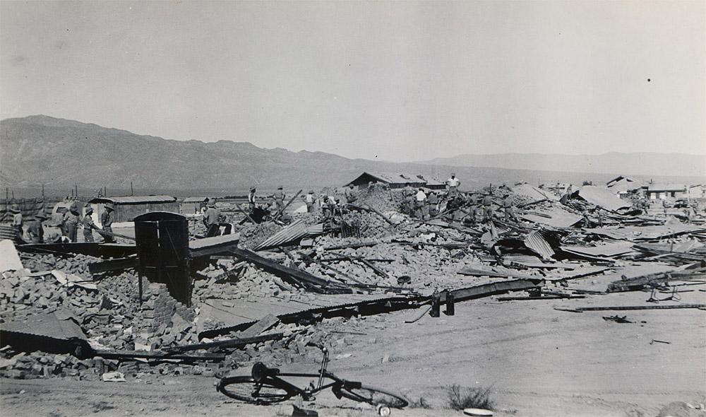 R.A.F. Lines, Quetta Earthquake 1935