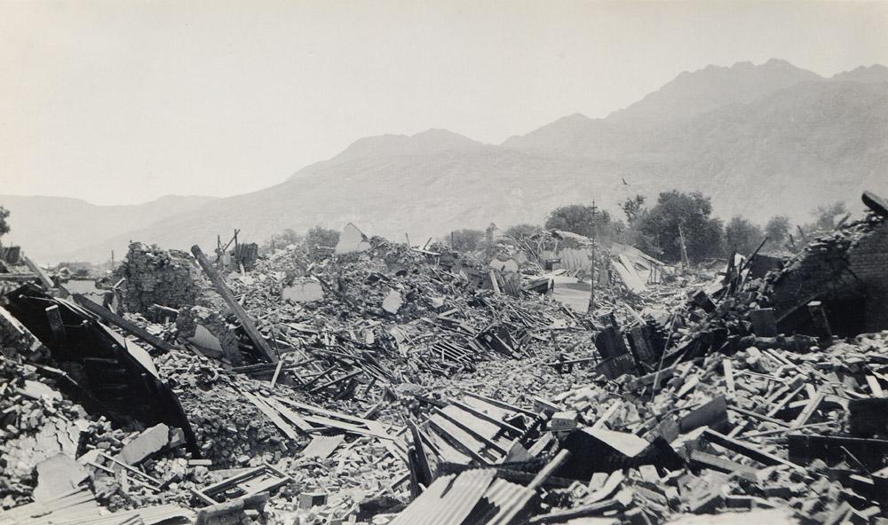 City Street, Quetta Earthquake 1935