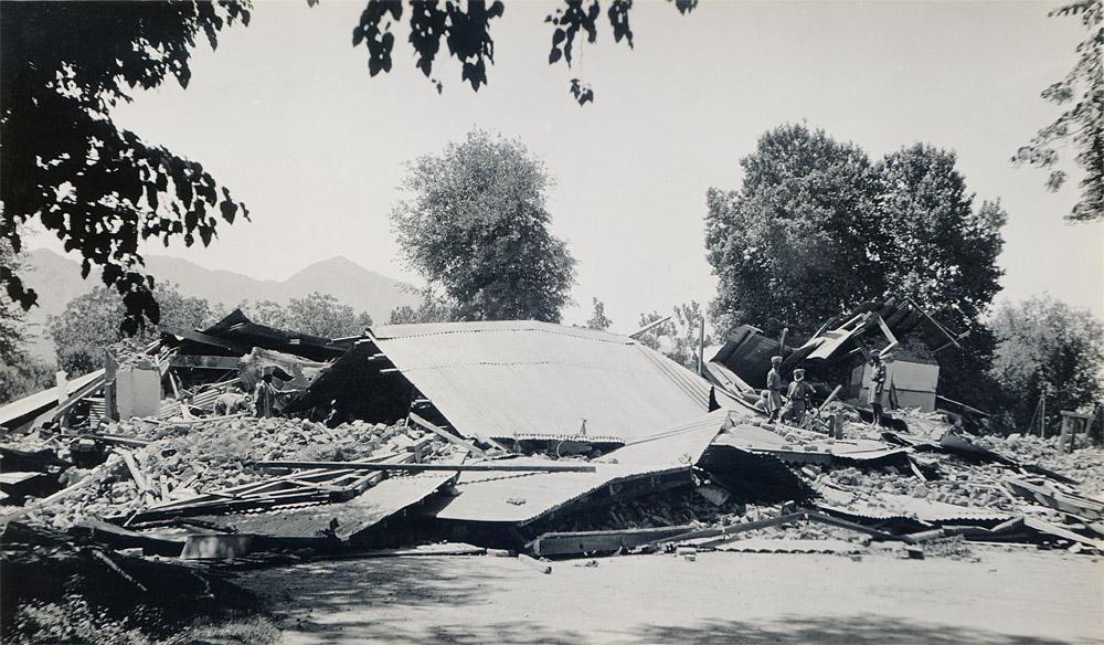 PA's Bungalow, Quetta Earthquake 1935