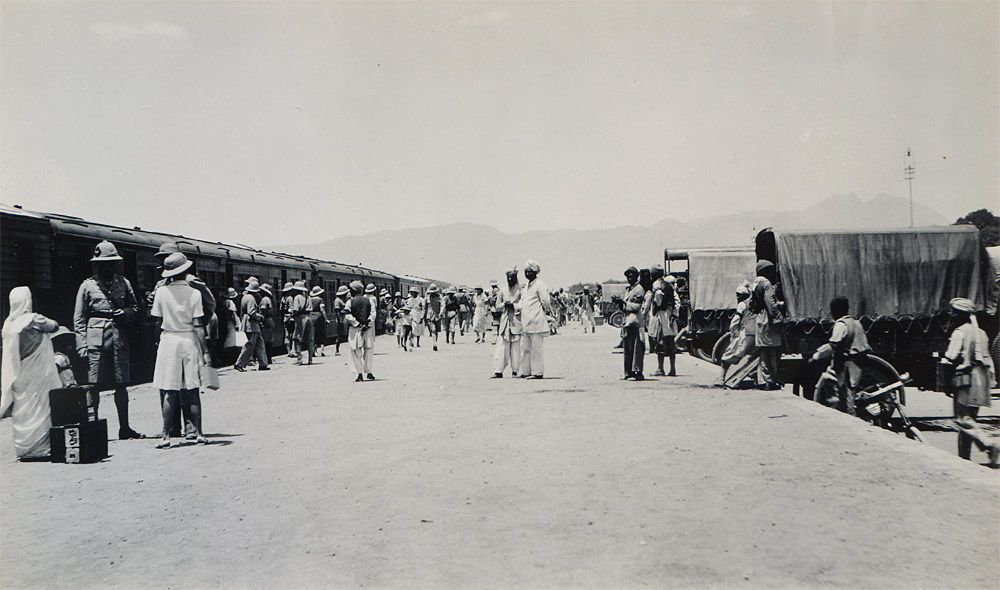 Departure of First Relief Train, Quetta Earthquake 1935