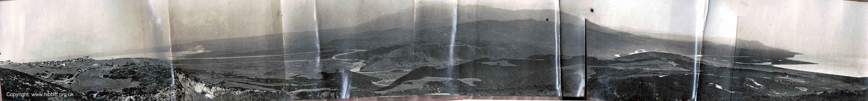 The Mouth of the River Struma in Greece during WW1