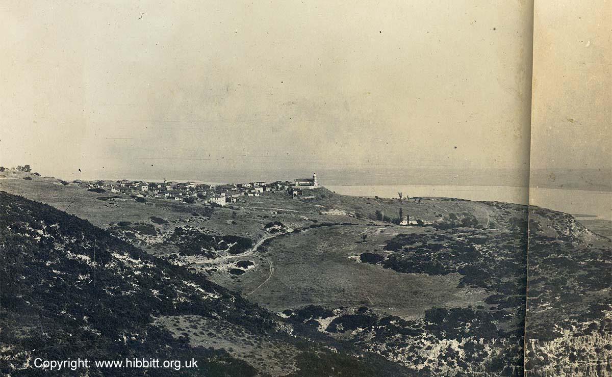 The village of Kato Krusoves in 1917