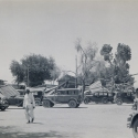 Lorries in Club Compound, Quetta Earthquake 1935