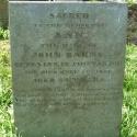 Headstone of Ann Barns / Barnes (nee Dawes)
