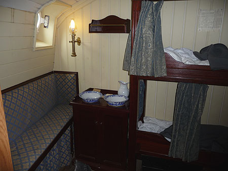 A First Class Cabin on the SS Great Britain
