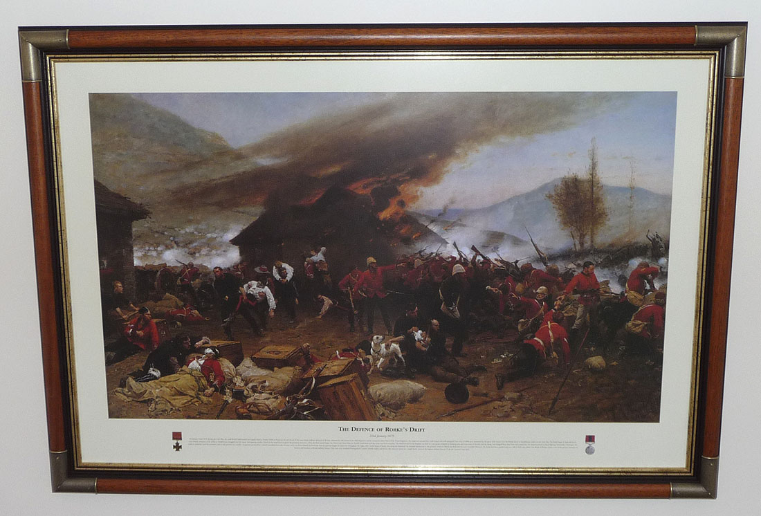 The Defence of Rorke's Drift by A de Neuville
