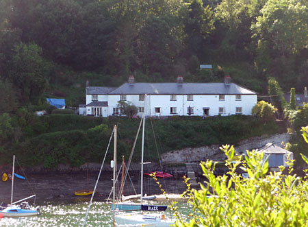The Old Coastguard Cottages opposite Newton Ferrers, Devon, in 2010