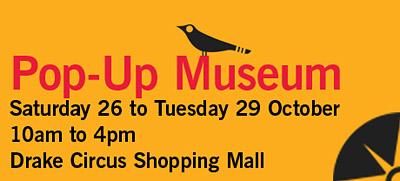 Pop-Up Museum Banner