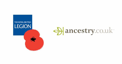 Ancestry supports the Royal British Legion