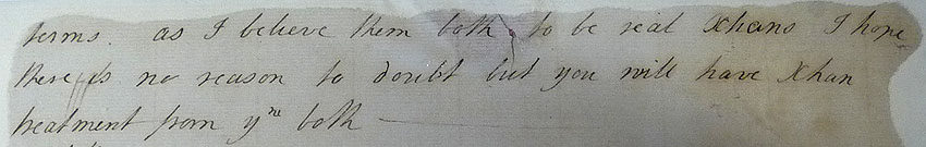 Letter written by Rowland Hill