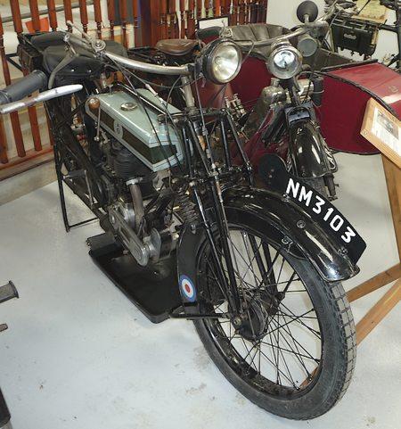 1924 5.5hp Triumph S.D