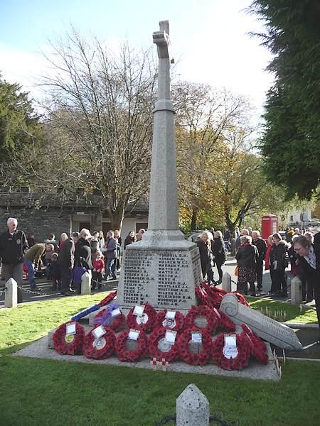 Tavistock War Memorial - 13th November 2016