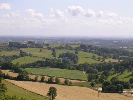 Views from Stinchcombe Hill near Dursley