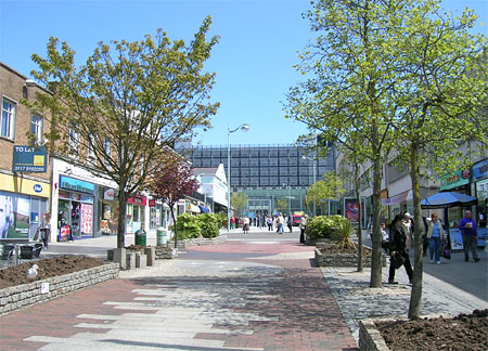 part of Plymouth's Modern City Centre