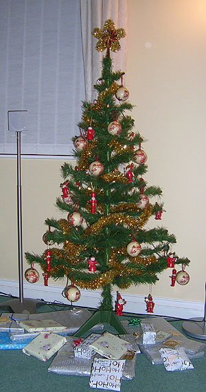 This is our original Christmas Tree