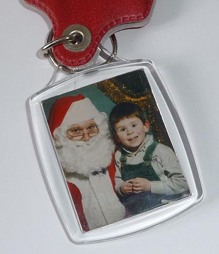 Santa Keyring
