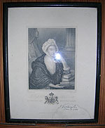 Signed picture of the Countess of Huntingdon at Rodborough Tabernacle - click for a larger version