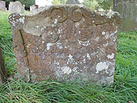 Headstone of Richard & Mary Fryer