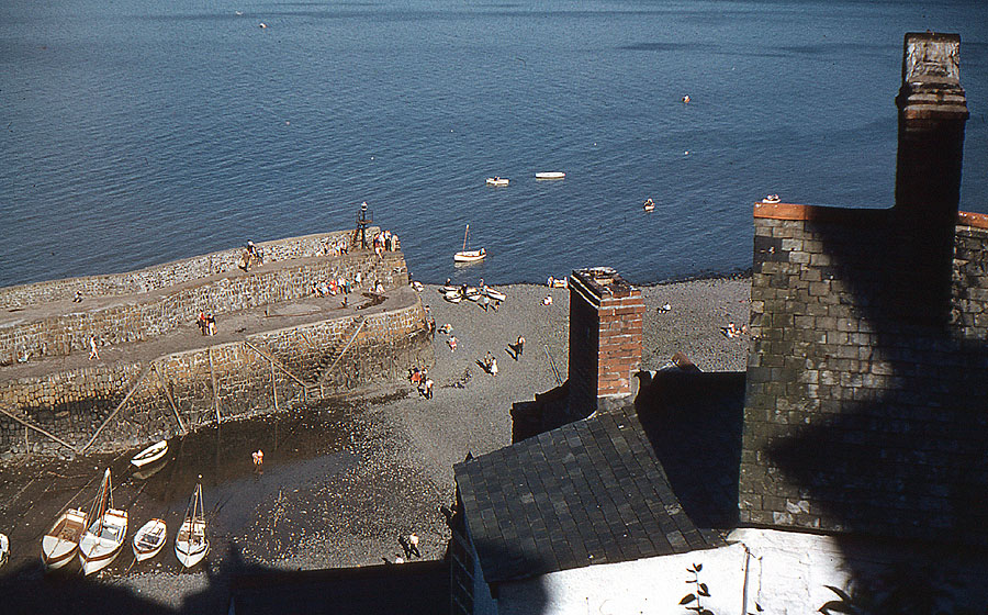 Old photos of Clovelly, Devon