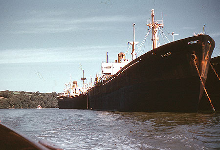 Oil Tankers on the River Fal - Valor