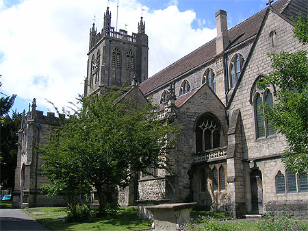 St James the Great Church, Dursley, Gloucestershire