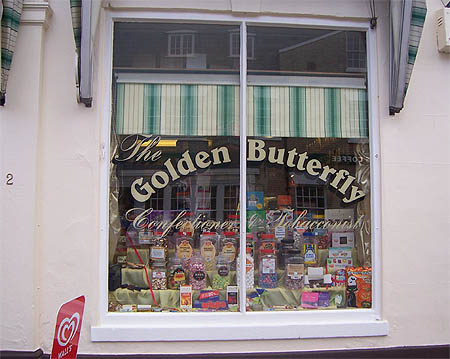 The Golden Butterfly, Saffron Walden