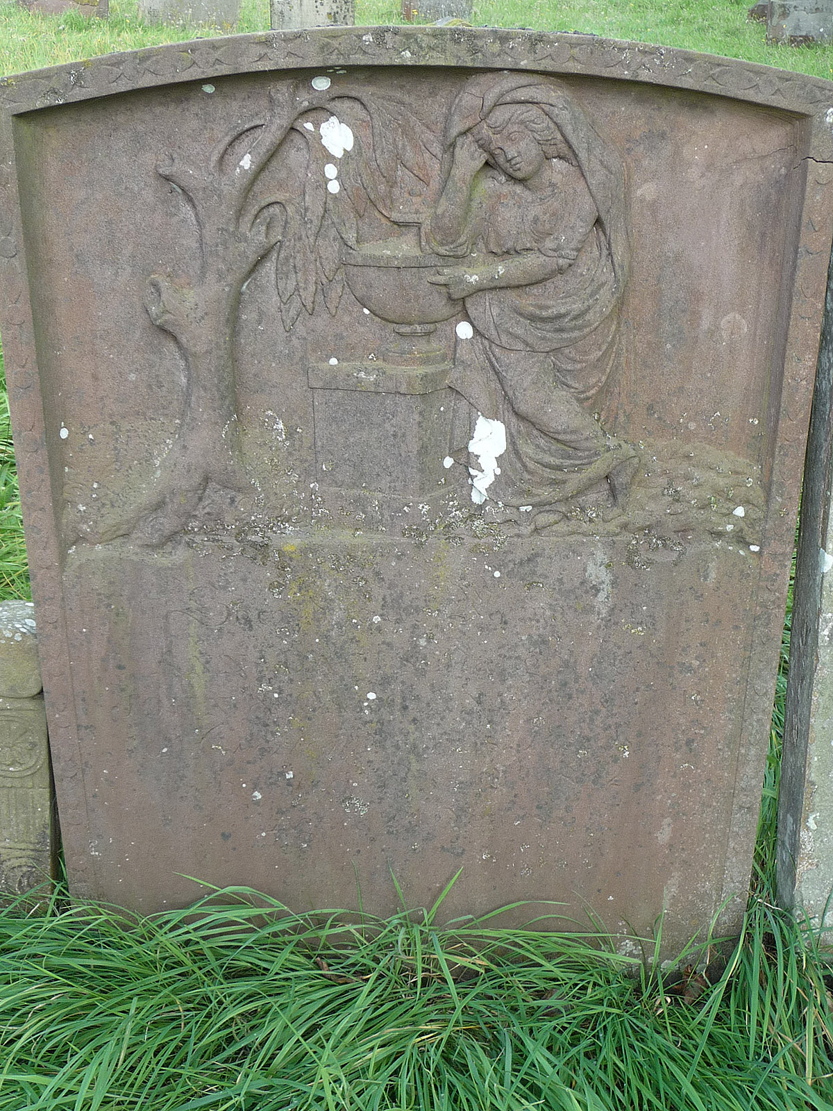 Headstone of Ann Davis (nee Fryer)