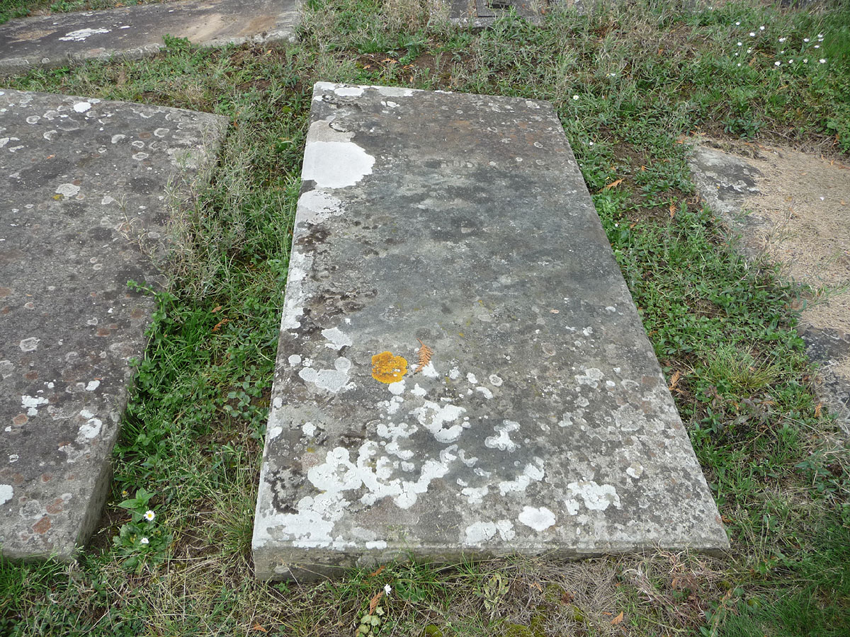 Grave of John Fryer (b. abt 1794), his wife, Prudence & Mary Ann Wilkie