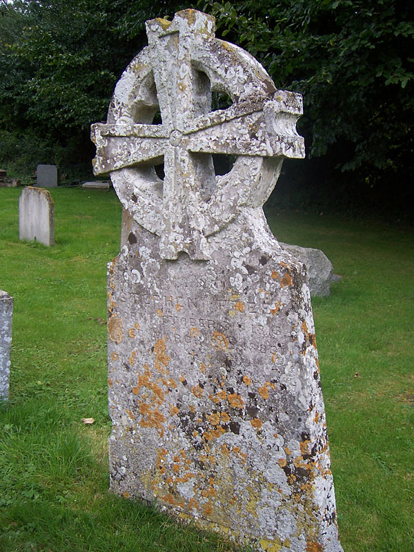 Headstone of Stephen Free (1815-1883)