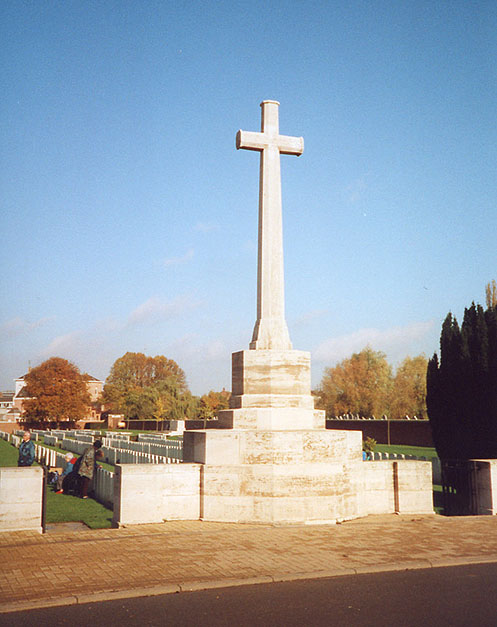 The Cross of Sacrifice at Merville