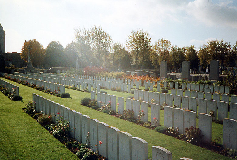 Merville Communal Cemetery Extension