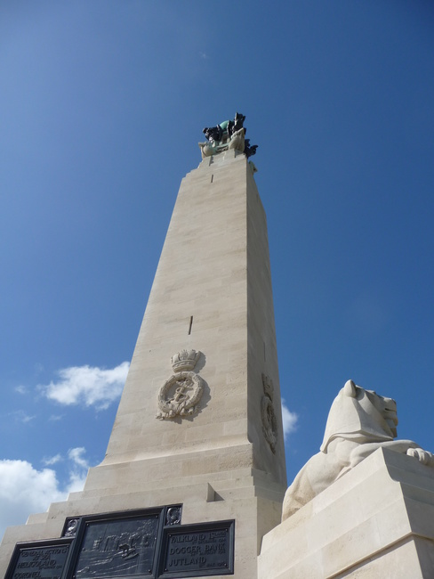 Plymouth Naval Memorial, The Hoe, Plymouth, Devon