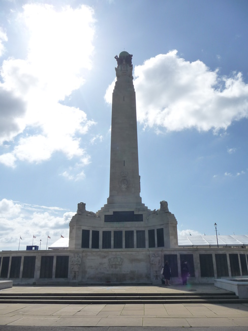 Plymouth Naval Memorial, Plymouth, Devon