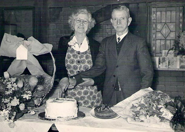 Golden Wedding of James Geake and his wife, Sarah (nee Hellyer)