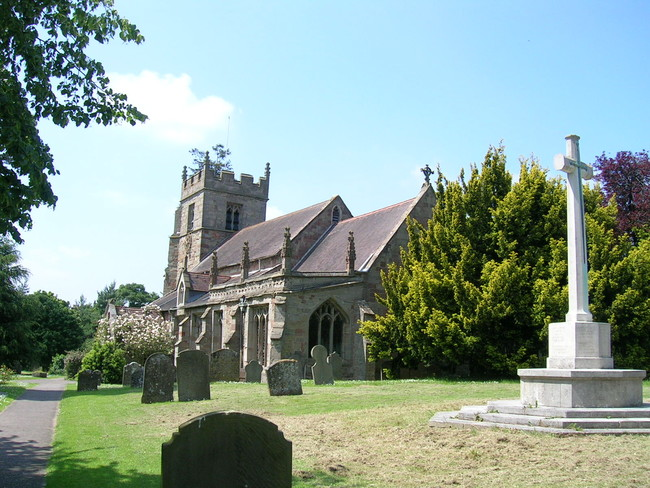 The Church at Claines, Worcestershire