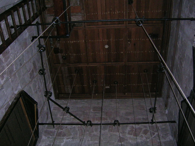 The Bell Chamber at St John Baptist Church, Claines