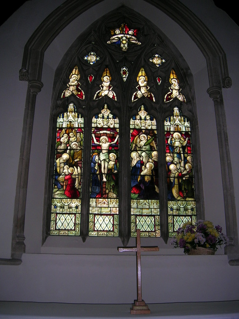 The East Window - Coaley Parish Church