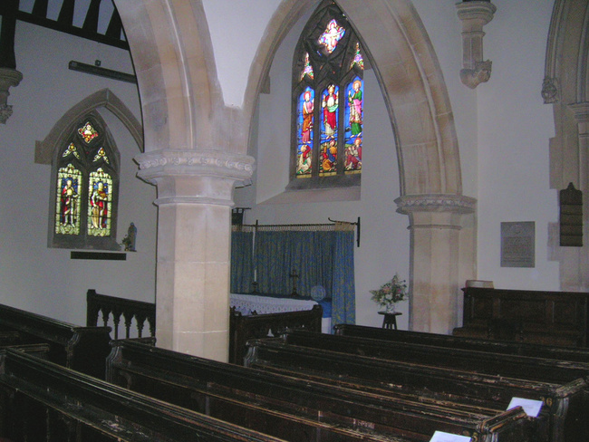 The Lady Chapel, St Bartholomew's Church, Coaley