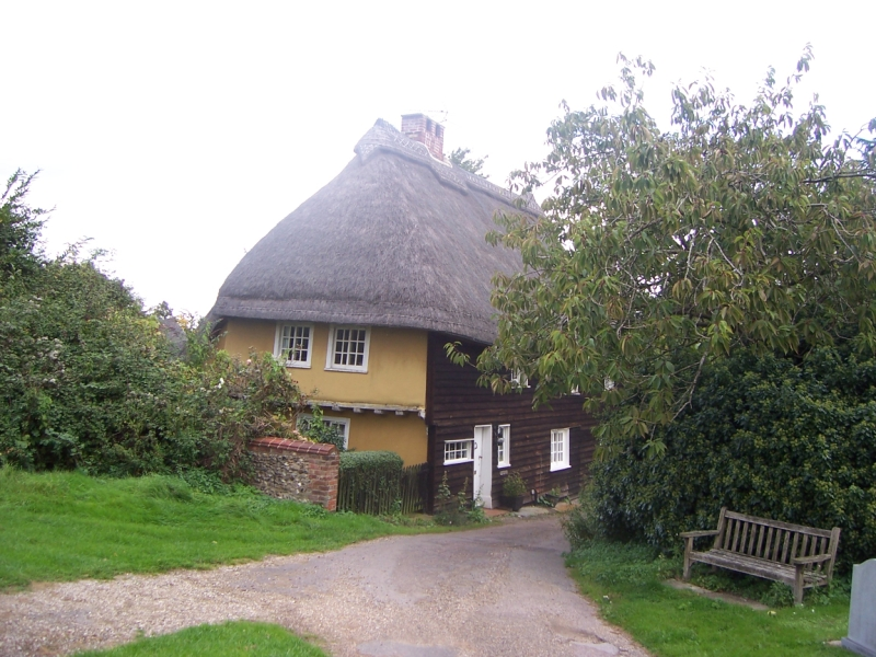 Thatched Cottage in Hadstock in Essex