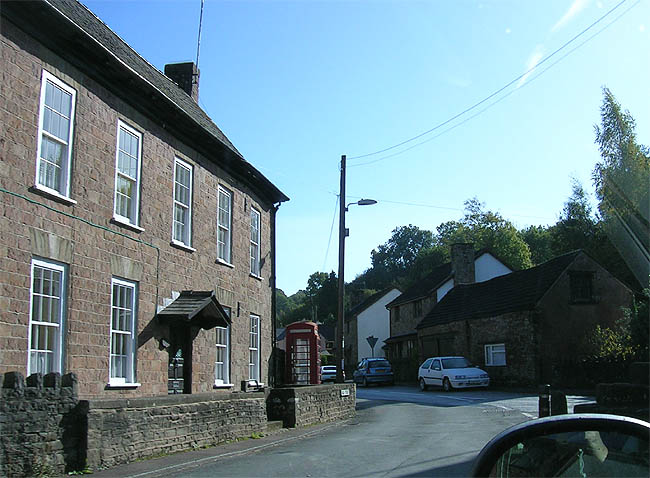 The Village of Clearwell in the Forest of Dean, Gloucestershire