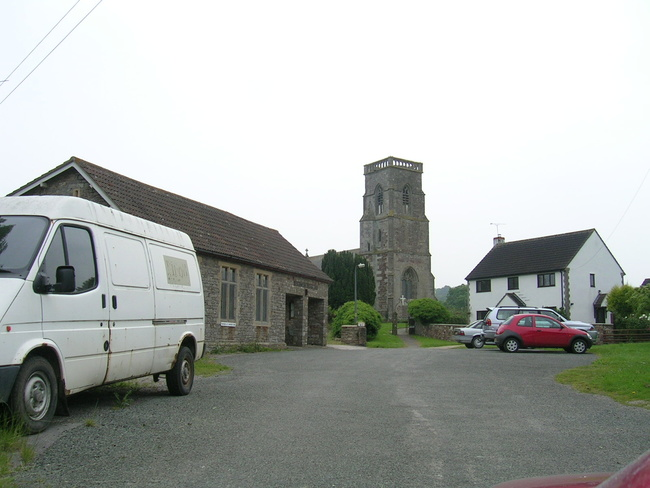 The church and village hall - Rockhampton