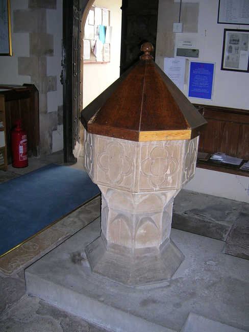 The Font, Rockhampton Church, Gloucestershire