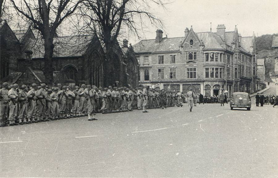 American Troops in Tavistock during WWII