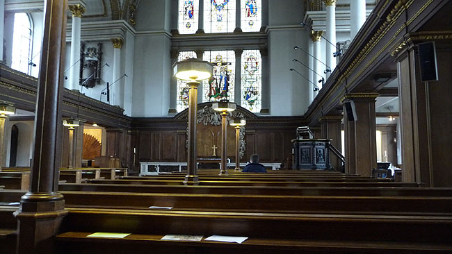 St James's Church, Westminster (Piccadilly), London
