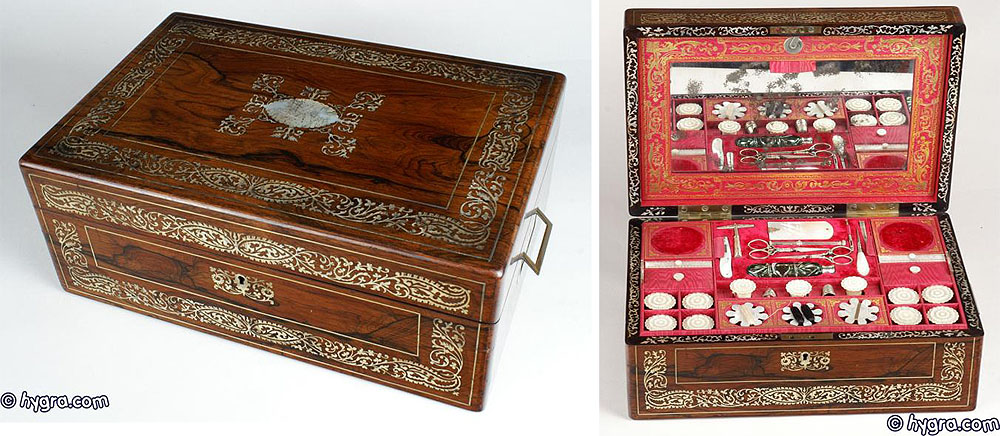 Antique Sewing Box connected to the Spiers and Dando Families