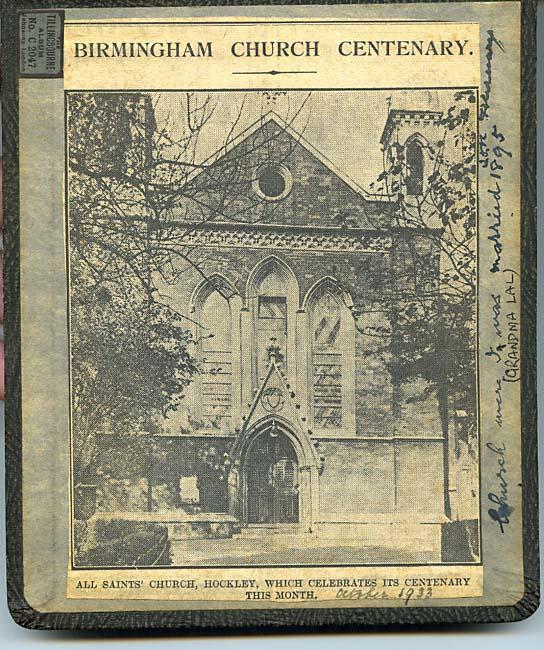All Saints Church, Hockley, Birmingham