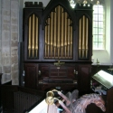 Lectern & Organ - Arlingham Church